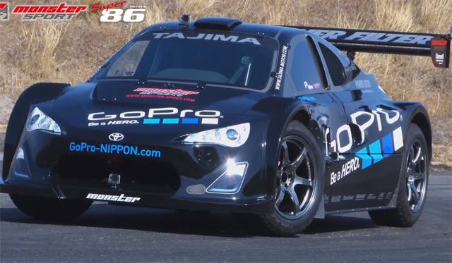 Video: Monster Tajima's 670hp Super 86 Pikes Peak 2013 racer
