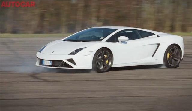 Video: Autocar Puts 2013 Lamborghini Gallardo LP560-4's ESP System Through its Paces