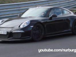 Video: 2014 Porsche 911 GT3 Hits the Nurburgring