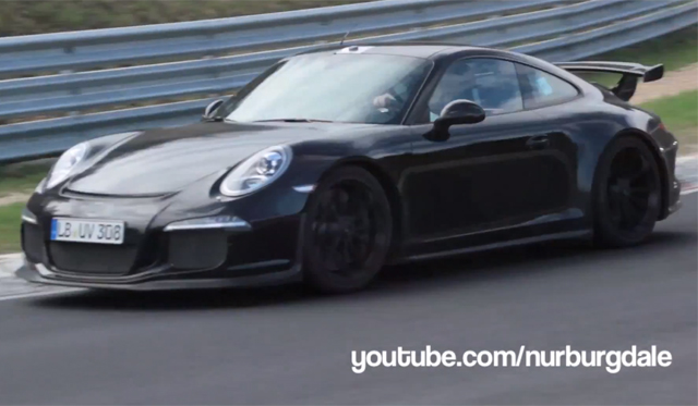 Video: 2014 Porsche 911 GT3 Hits the Nurburgring