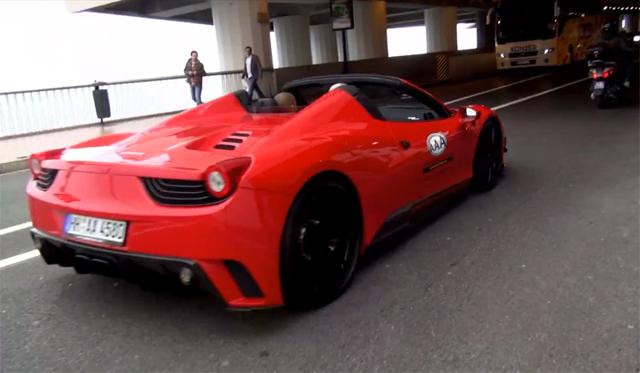 Video: Mansory Ferrari 458 Spider Siracusa Screams Through Monaco