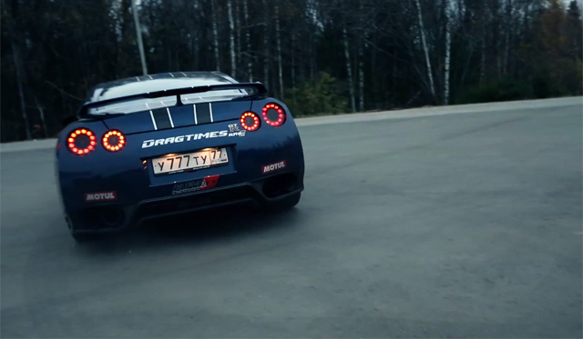 Video: 1700hp Nissan GT-R Alpha 12 Hits 300km/h in 12.8 Seconds