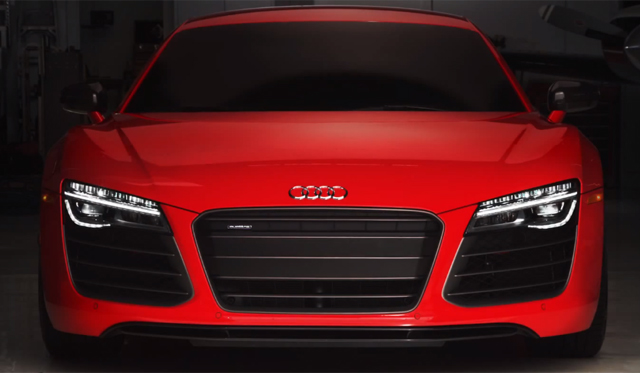 Video: 2014 Audi R8 is Iron Man Approved