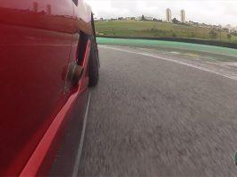 Video: Ferrari 599XX Evoluzione Racing at Interlagos