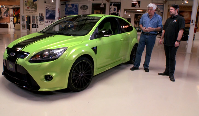 Video: Jay Leno Drives 420hp Ford Focus RS by Galpin Auto Sports and Mountune