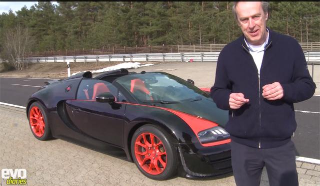 Video: Evo Drives the 408km/h Bugatti Veyron Grand Sport Vitesse World Record Edition