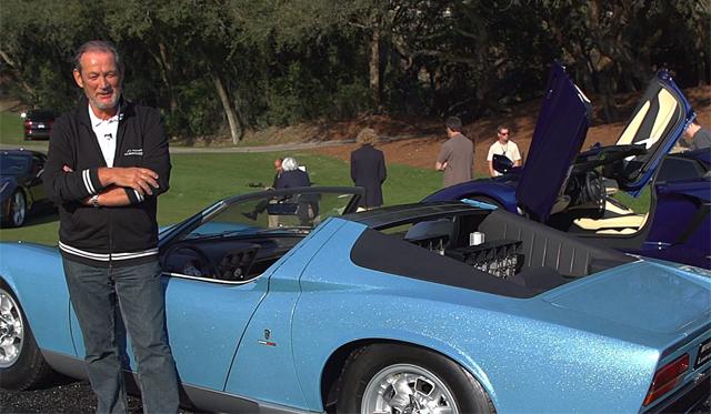 Video: Jay Leno's Garage Looks at the 50th Anniversary of Lamborghini