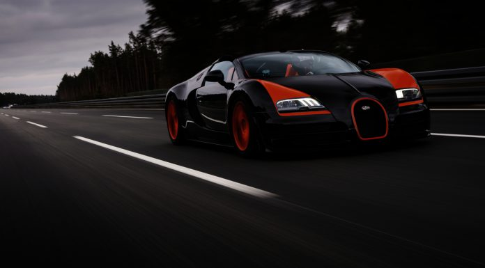 Bugatti Veyron Grand Sport Vitesse World Record Edition at 408.84km/h