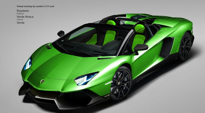 Lamborghini Aventador LP720-4 50th Anniversario in all Colors