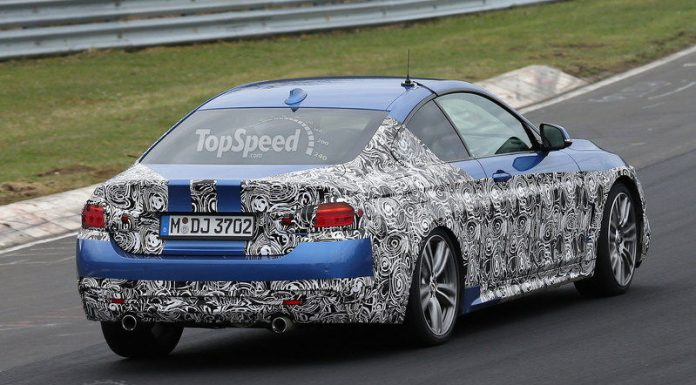 Spyshots: 2014 BMW 4-Series M Sport Snapped for the First Time