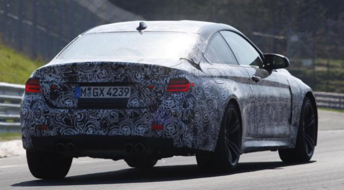 Spyshots: 2014 BMW M4 Spotted at the Nurburgring