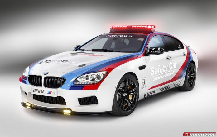 BMW M6 Gran Coupe MotoGP Safety Car