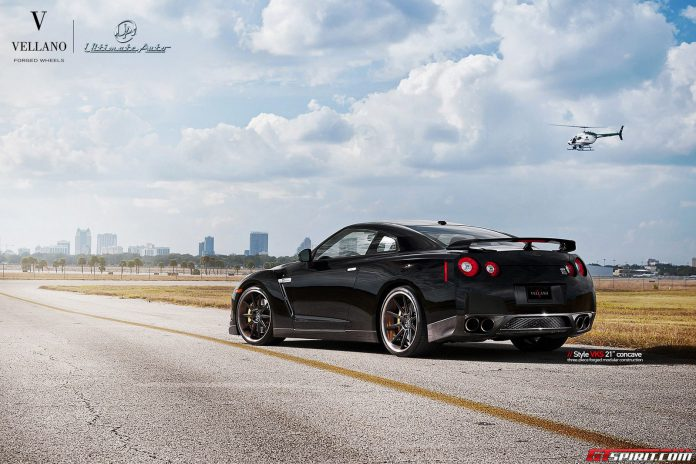 Nissan GT-R with Vellano Wheels