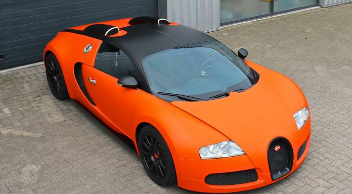 Matte Orange Bugatti Veyron