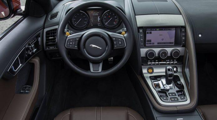 Jaguar F-Type V6 S Steering Wheel