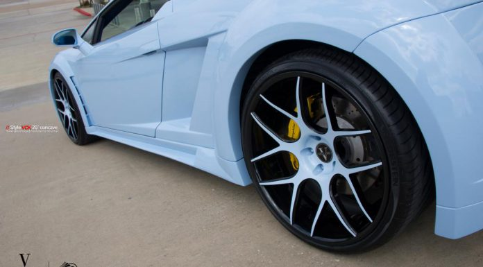 Baby Blue Widebody Lamborghini Gallardo Spyder by Progressive Autosports
