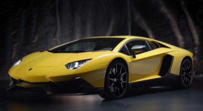 Video: Official Promo for Lamborghini Aventador LP720-4 50th Anniversario