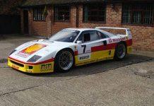 For Sale: 1989 Ferrari F40 GT Racer by Michelotto