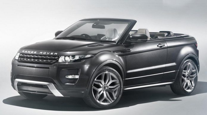Range Rover Evoque Convertible Will not Enter Production