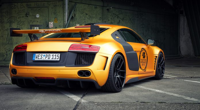 Gallery: Orange Audi R8 PD GT850 by Prior Design