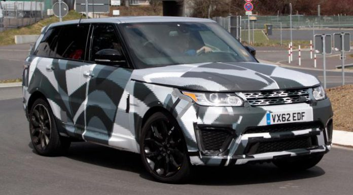 Spyshots: 2014 Range Rover Sport RS Snapped at the 'Ring