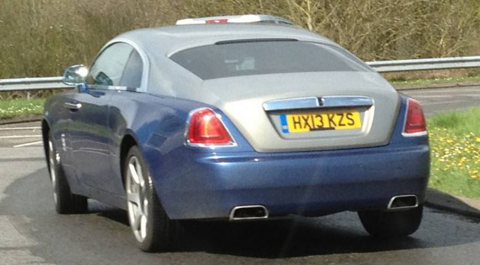 Spyshots: 2014 Rolls-Royce Wraith Spied on Road for the First Time