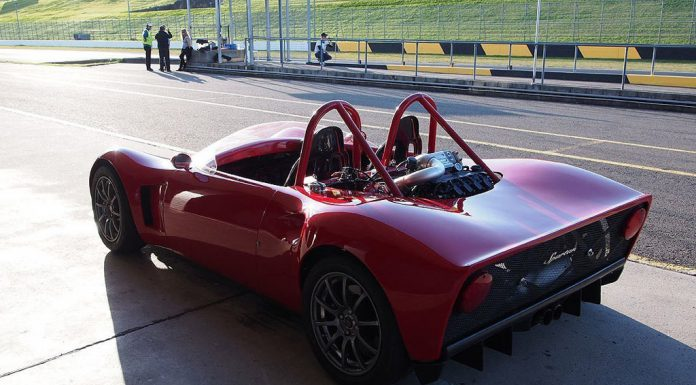Video: Australian Spartan Sports car Hits the Track