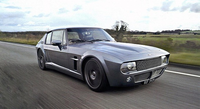 Gallery: 8.4-liter V10 Powered Jensen Interceptor