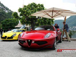 Villa d'Este 2013: Touring Superleggera Disco Volante
