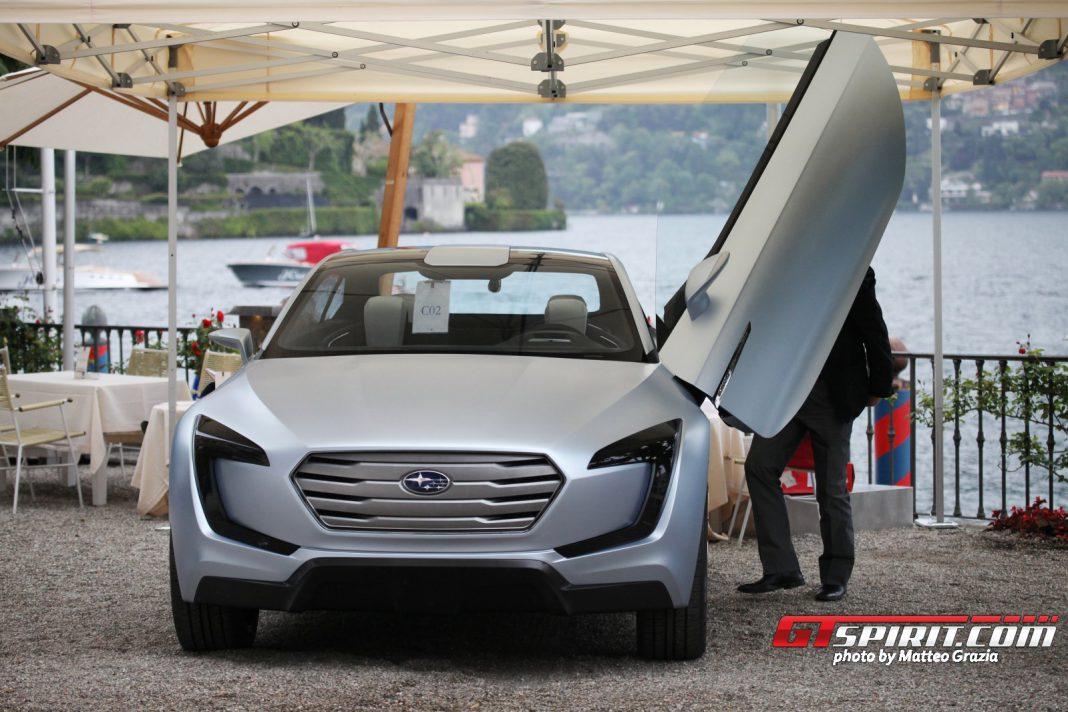 Villa d'Este 2013: Subaru Viziv Concept