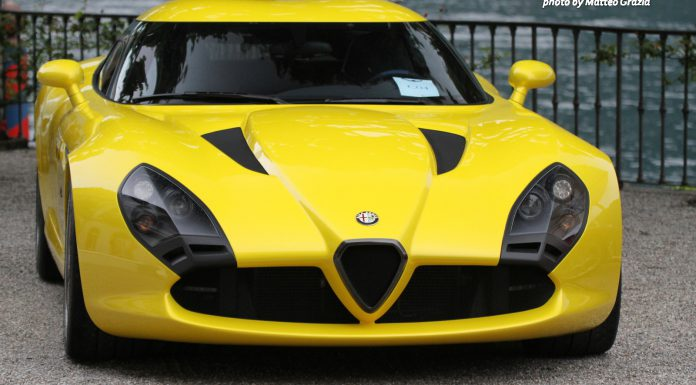 Villa d'Este 2013: Alfa Romeo TZ3 Stradale by Zagato
