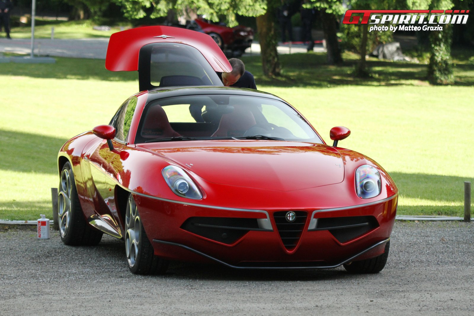 Alfa Romeo Disco Volante Wins Design Award For Concept Cars And