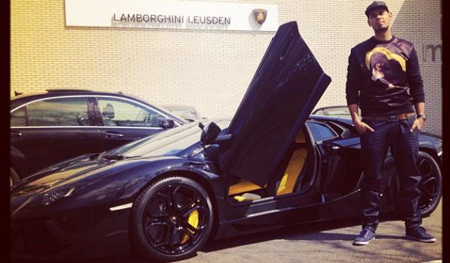 DJ Afrojack Lamborghini Aventador