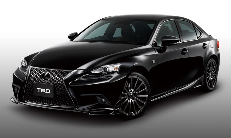 Official: 2014 Lexus IS-Series TRD