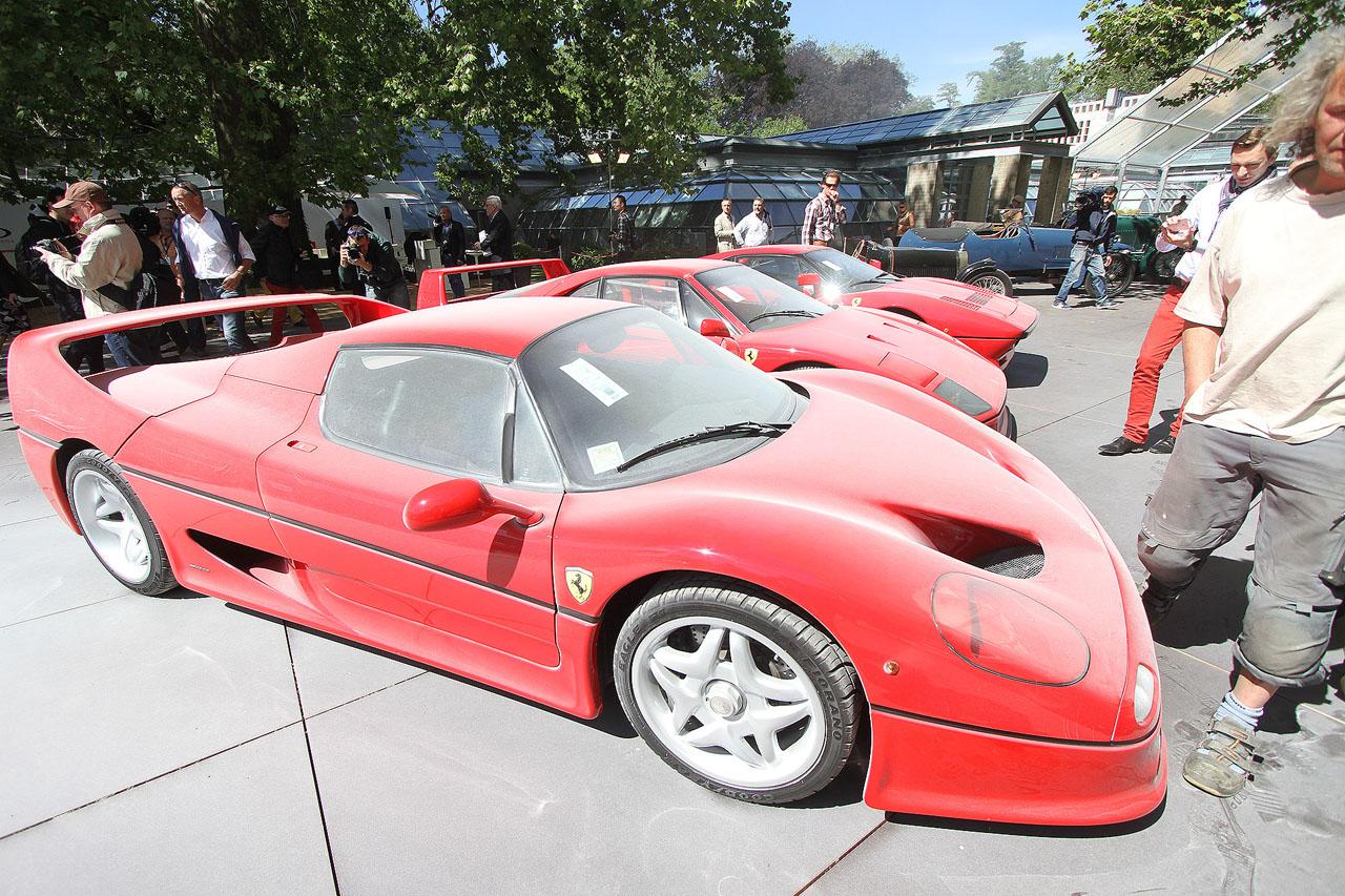 Old Ferrari Enzo 6