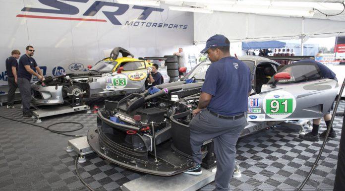SRT Preps Viper GTS-R Racer for 24 Hours of Le Mans