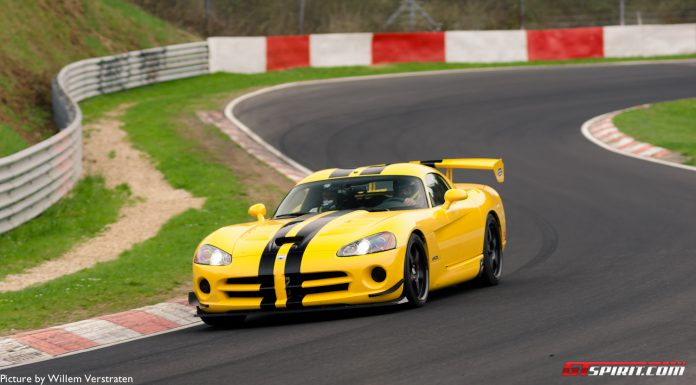 Photo Of The Day: Yellow Dodge Viper ACR on the 'Ring