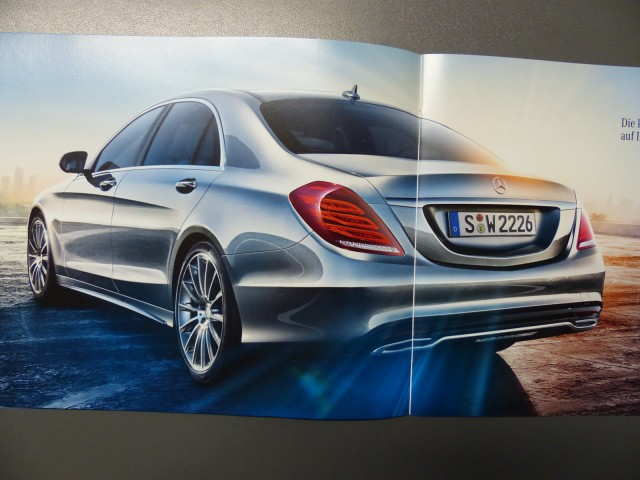 2014 Mercedes-Benz S-Class Leaked