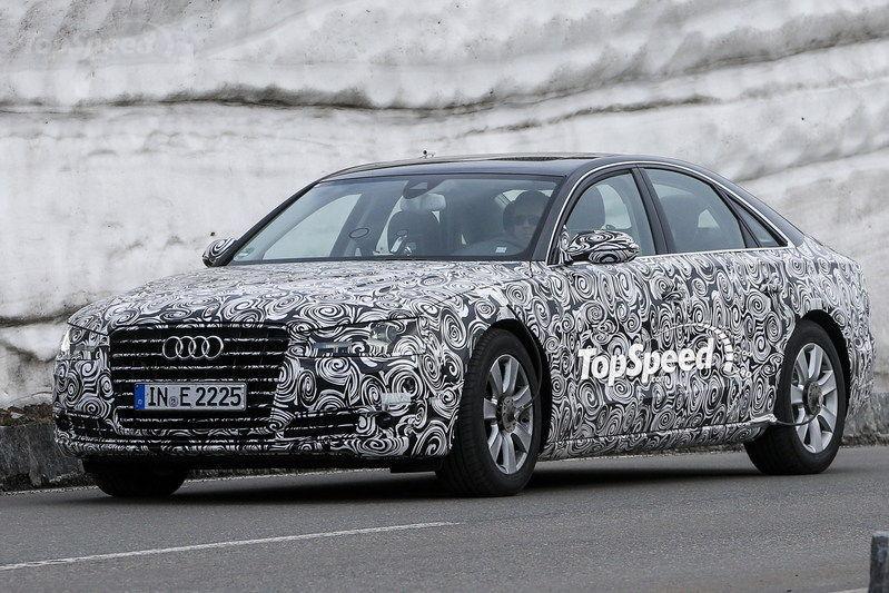 2015 Audi A8 Facelift