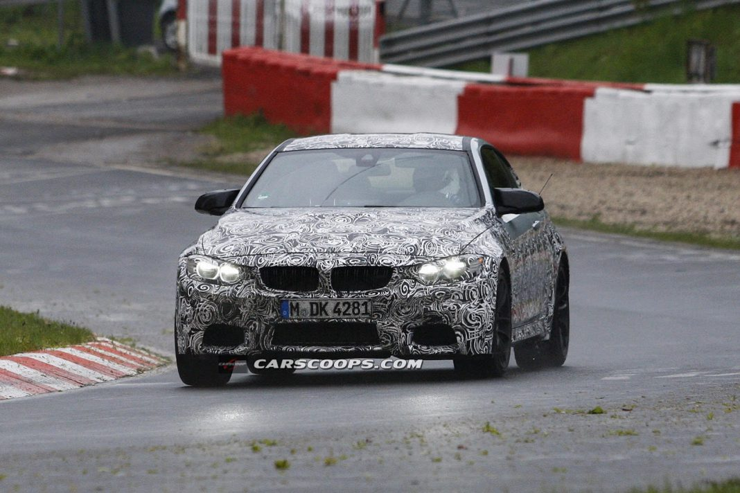 Spyshots: 2014 BMW M4 at the 'Ring