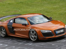 Spyshots: 2015 Audi R8 GT at the 'Ring