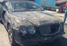 Car Washer Crashes Bentley Continental GTC