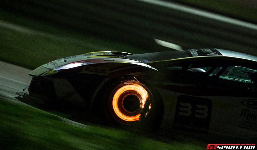Lamborghini Blancpain Super Trofeo Night Race