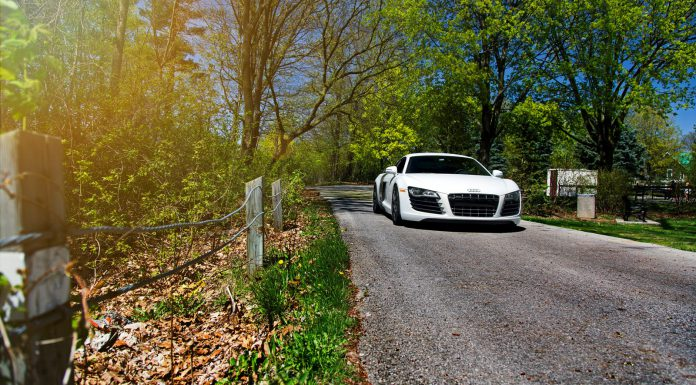 Photo Of The Day: Audi R8 V8 on HRE Wheels