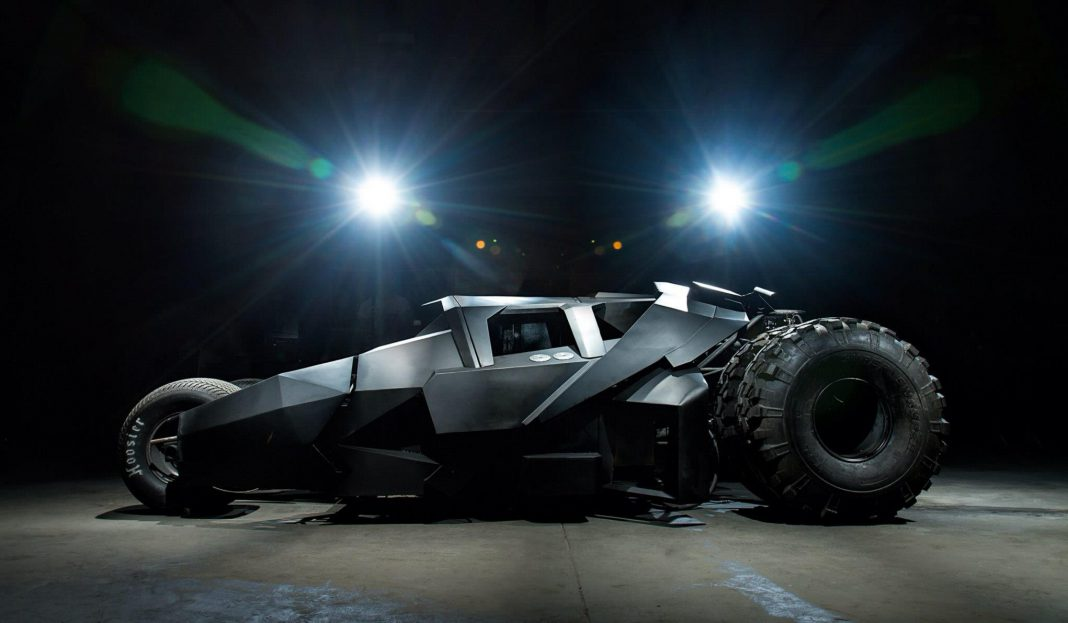 Team Galag's Custom Batman Tumbler