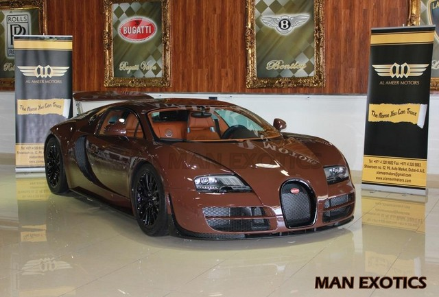 For Sale: Brown Bugatti Veyron Super Sport in Dubai