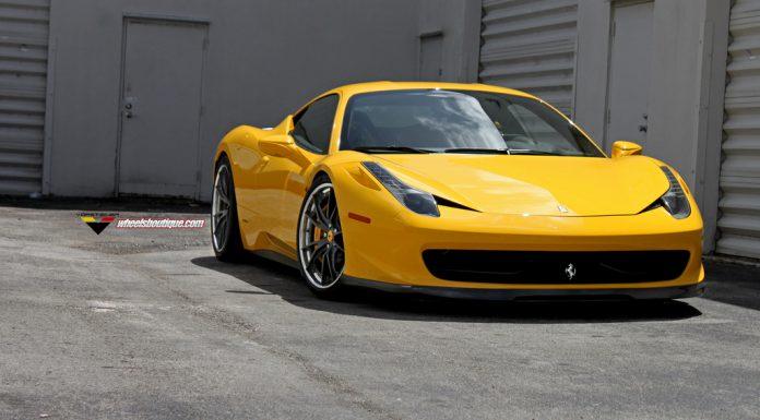 Ferrari 458 Italia by Vorsteiner and HRE Wheels