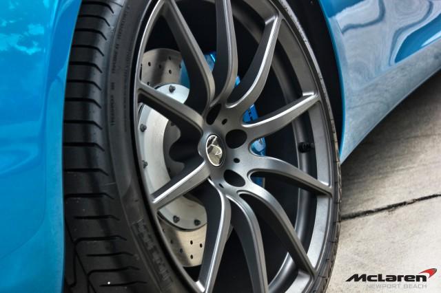 Gallery: Blue McLaren 12C Spider at McLaren Newport Beach