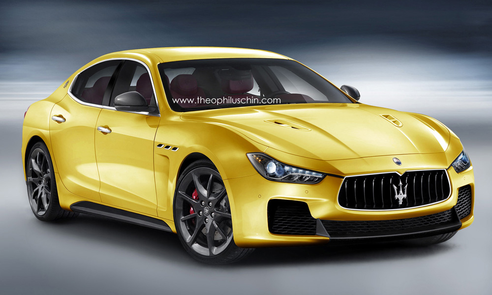 Render Maserati Ghibli Mc Stradale By Theophilus Chin