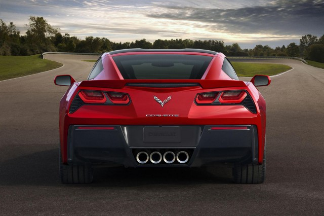2014 Chevrolet Corvette Stingray Sports 455hp and 460lb-ft